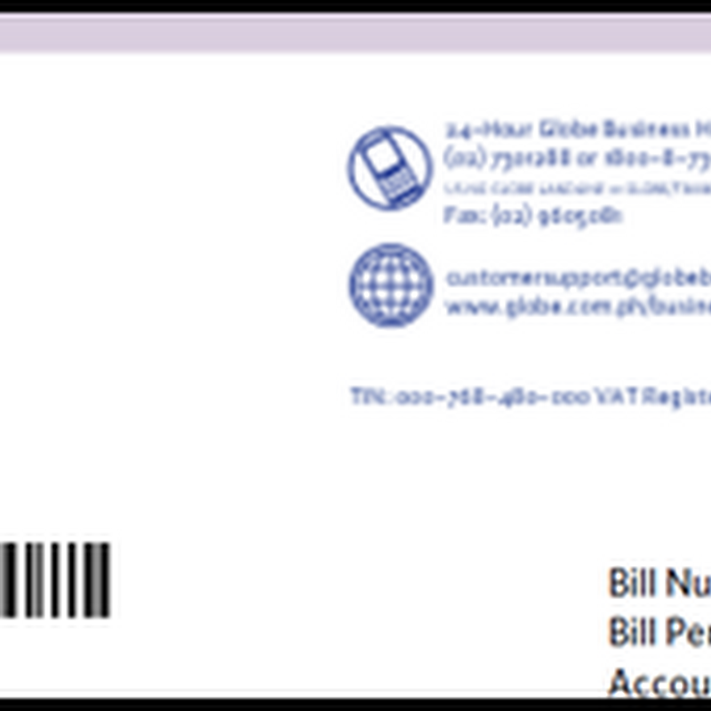 Globe business plan customer service